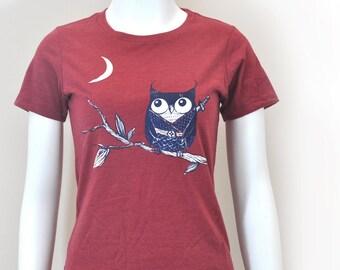 Owl Ninja woman Tee