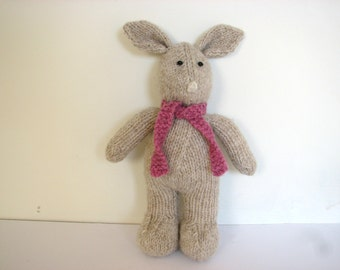 Bunny Rabbit Knitting Kit - 100% Pure New British DK Wool