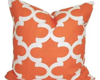 PILLOW COVER SALE, Orange Pillows, Fall Cushion Cover, Decorative Pillow, Throw Pillow, Fall Accent Pillow, Orange Cushion