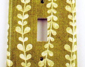 Switch Plate Wall Decor in  Vines (138S)