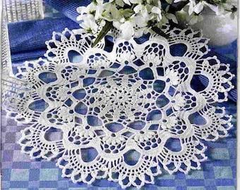 READY TO SHIPCrochet doily - crochet doilies - Home decor - White crochet doily - Handmade tablecloth