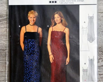 Pouch pattern Burda 2594 - evening dress
