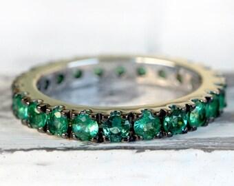 Anello di fidanzamento smeraldo, smeraldo, smeraldo naturale, anelli donna, anello fidanzamento, regali per anniversario