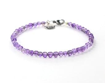 Amethyst Crystal Bracelets