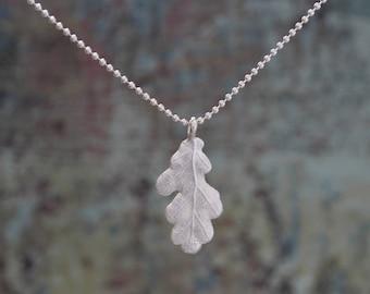 Oak Leaf Pendant (Melitina Balabin)
