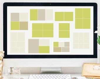 Pack de 10 plantillas de Photoshop / Blog Templates / plantillas web / plantillas de Storyboard / Pack #1