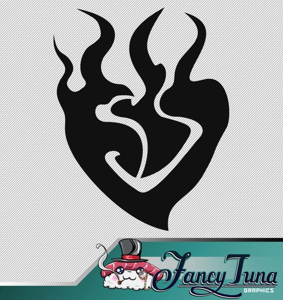 Vinyl Decal Rwby Yang Xiao Long Logo From Fancytunagraphics On Etsy