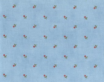 Anns Arbor Blue 14845 25 - Moda Fabrics 100% Cotton Quilting Fabric by Minick and Simpson