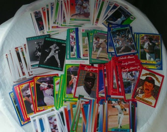 San Diego Padres set of 211 vintage baseball cards for decoupage, framing, crafts or collecting nl mlb 1990-92 SD Tony Gwynn FREE SHIPPING!