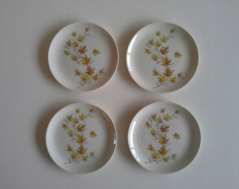 4 Taylorton Bread and Butter Plates.