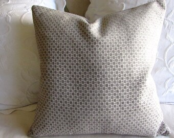 Chenille decorative Pillow Cover 18x18 20x20 22x22 24x24 26x26 platinum gray