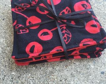 Set of 4 Cherry Bomb Coasters