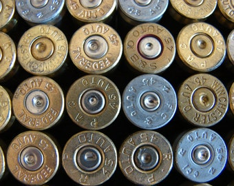 45 Auto Bullet Shell Casings 45 Auto Ammo – Lot of 50