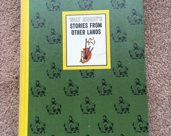 Vintage Walt Disney's book - stories from other lands