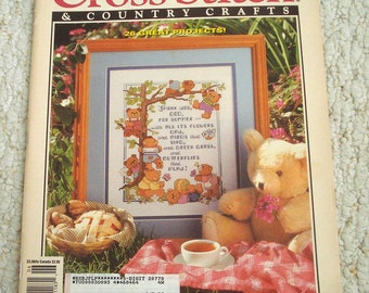Cross Stitch and Country Crafts, May June 1992, Better Homes and Gardens Magazine