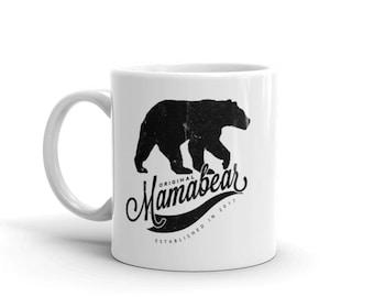 Mama Bear Mug, Personalized Mom Mug, Mug For Mama Bear, Mamma Bear, Mothers Day Gift, Gift For Wife Mug, Gift For New Mom Mug, Mom Gift