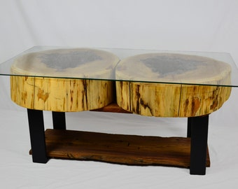Old Growth Cedar Large Coffee Table