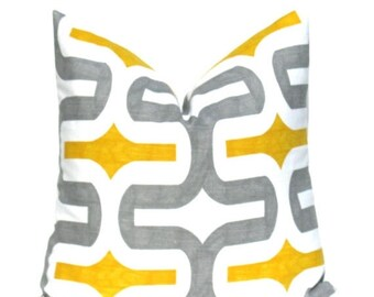 15% Off Sale Pillow Cover, Gray Pillows, Yellow Pillows, Yellow Pillow Cover, Gray Pillow Cover, Throw pillow Covers, Accent pillows, Decora