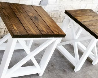 Popular Items For Rustic End Table