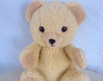1986 Snuggle bear hand puppet FREE SHIPPING!!!