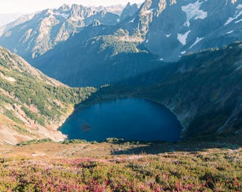 Beautiful Hidden Lake in the North Cascades |  Pacific Northwest Photography | Print | Metal, Canvas, Lustre
