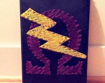 Omega Psi Phi String Art