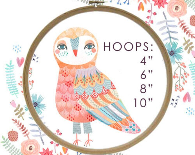 """Embroidery Hoop - craft supply, hoop, cross stitch, 4"""", 6"""", 8"""", crafts, unique, stitching, handmade, gift, needle work, embroider"""