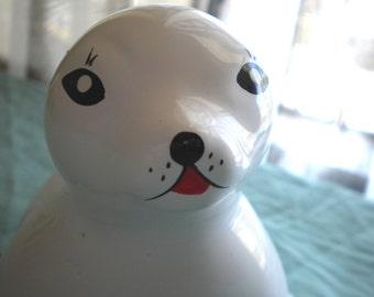 Vintage Ceramic Seal