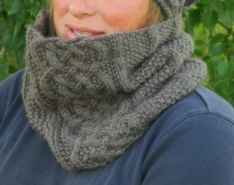 KNITTING PATTERN PDF cowl - knit pattern cowl, knit pattern scarf, cowl, scarf knitting pattern