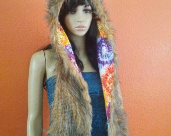 Gold Falcon Custom Spirithood