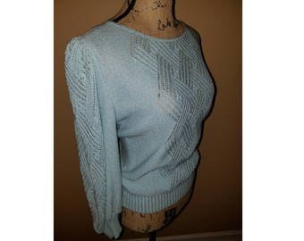70s Vintage Clothing, Vintage Sweater, 70s Top, Festival Clothing