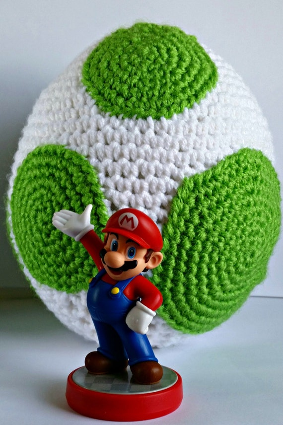Yoshi Egg Amigurumi Crochet Pattern Pdf Yoshis New Island Yoshis