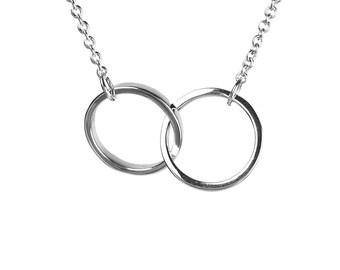 Karma Link Necklace Kismet - 925 Sterling Silver