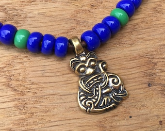 Borre Style Gripping Beast pendant ONLY
