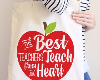 Thank You Gifts For Teachers - Teacher Bag - Teacher Tote Bags