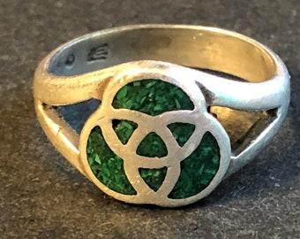 Celtic Trinity Knot - Sterling 925 - Size 5