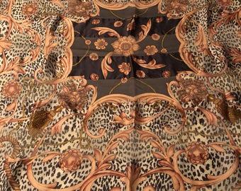 Lanvin Paris vintage Lanvin Paris silk scarf vintage silk scarf