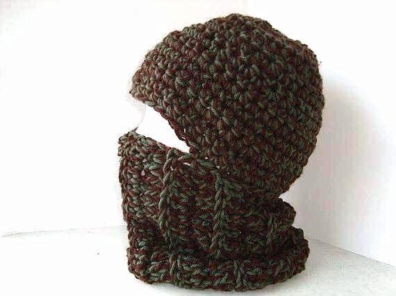 Hat Crochet Pattern Ski Mask Crochet Hat Pattern Crochet Pattern