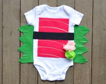 Tuna Sushi Halloween Costume, Baby Costume