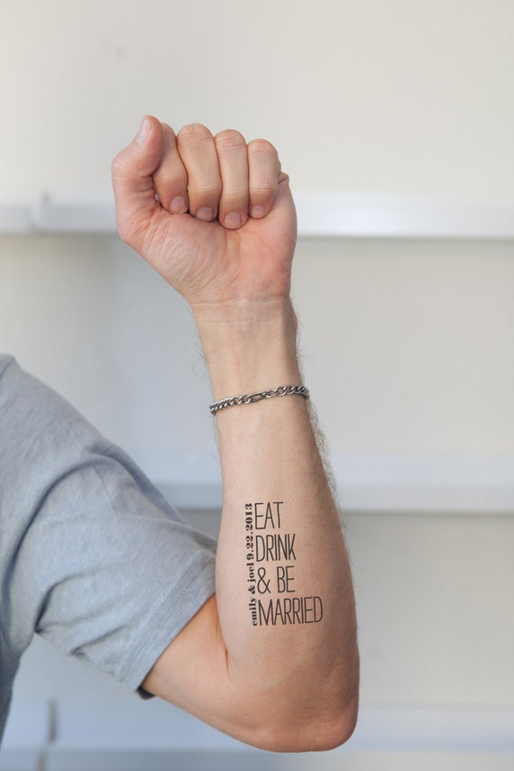 Getting married temporary custom tattoos for Fake tattoo creator