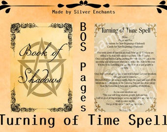BOS Pages: Turning of Time Spell