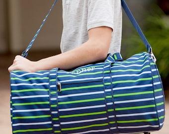 Boys Duffle Bag, Monogram Duffle Bag, Monogrammed Duffle Bags, Personalized Bags for Kids, Travel Bag
