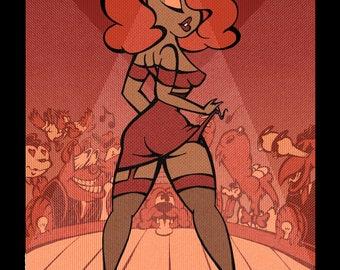 Burlesque Pinup