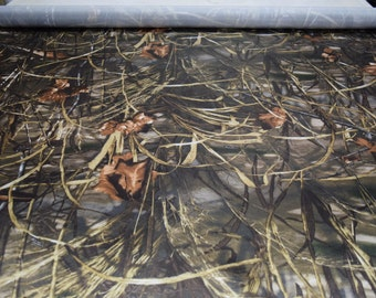 "Realtree Max 4 HD Bridal Satin Fabric Hunting Camouflage 60"" Wide By The Yard 36"" Long"