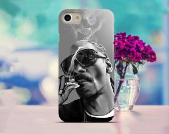 Snoop Dogg Samsung S8 case Rapping Google Pixel 2 case Rap Galaxy case Snoop Doggy Iphone X case Dogg Samsung case Iphone 8 case Gifts