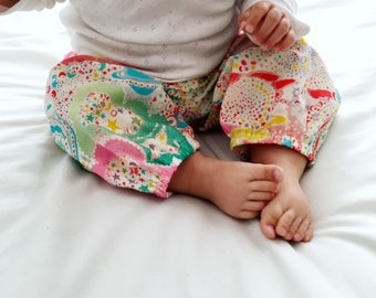 Liberty baby trousers in milky way print | tana lawn | baby shower | liberty fabric