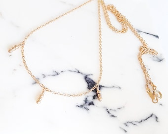 delicate gold necklace dainty gold necklace delicate necklace tiny gold necklace gold necklace dainty necklace
