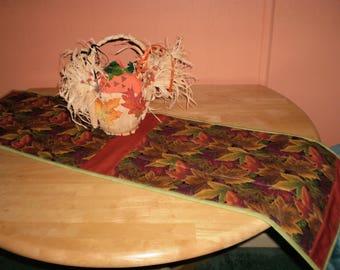 Chemin de Table matelassé de l'automne