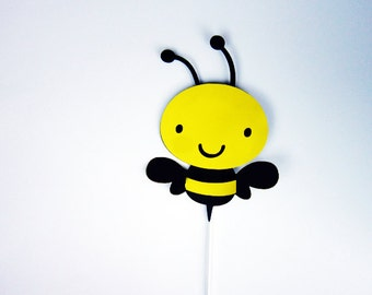 Bumble Bee Cake Topper, Bee Cake Topper