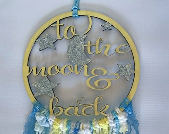 Moon and Back Dreamcatcher